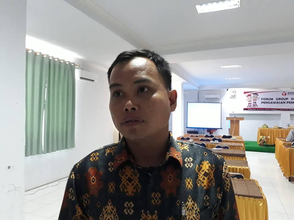 Ahmad, ketua Panwaslu Kecamatan Simboro, Mamuju