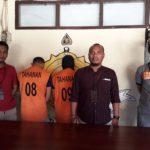 Polres Mamuju Tangkap 2 Pencuri Ban Mobil